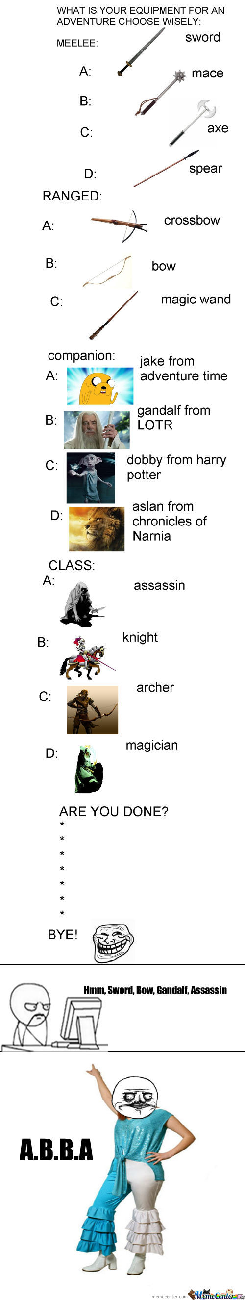 [RMX] Choose Your Adventure