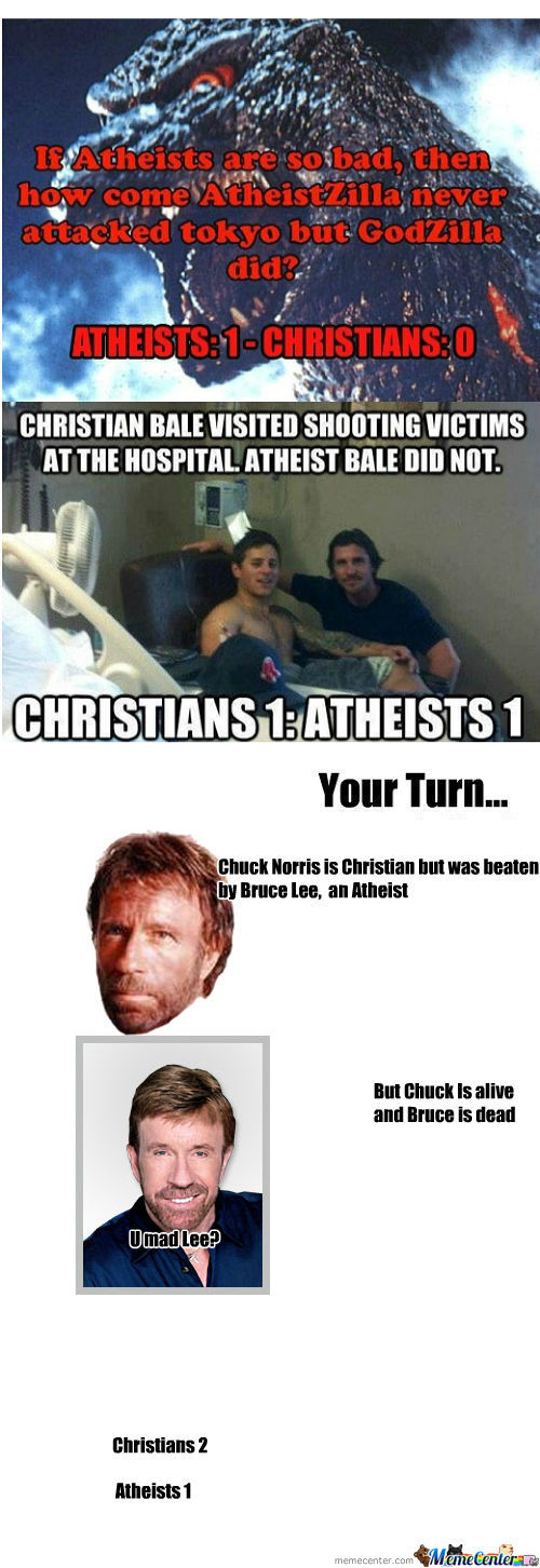 [RMX] Christians Vs Atheist