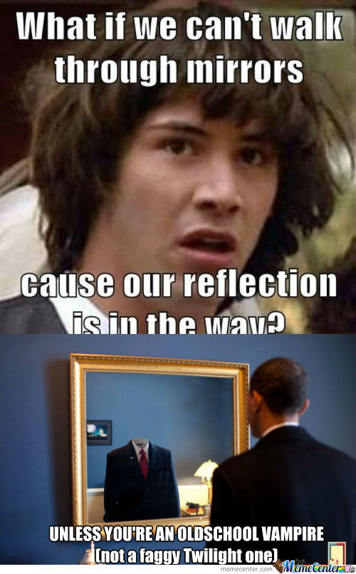 [RMX] Conspiracy Keanu - What if we can't walk through mirror