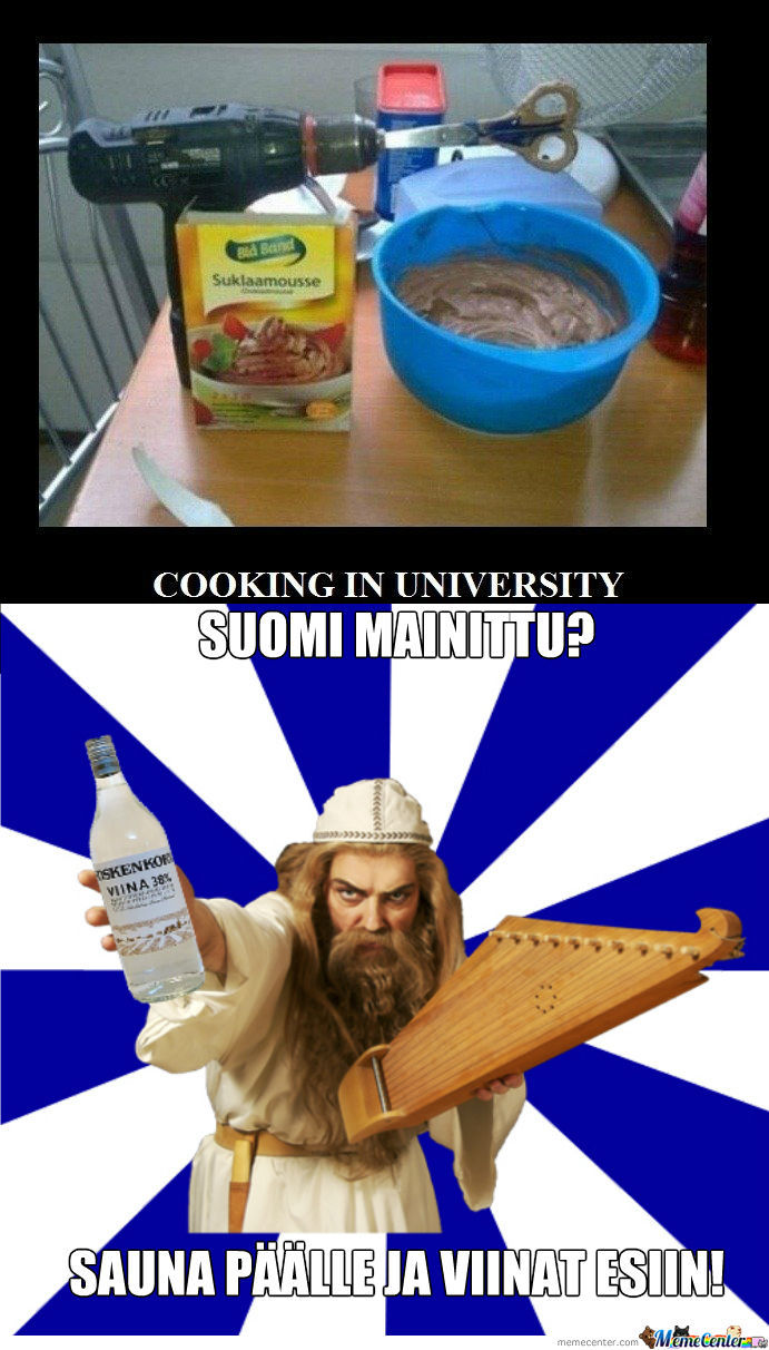 [RMX] Cooking In University