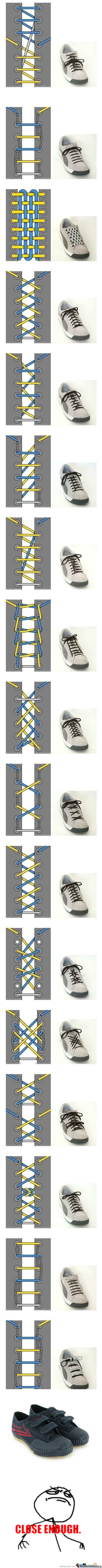[RMX] Cool Ways To Tie Your Shoes