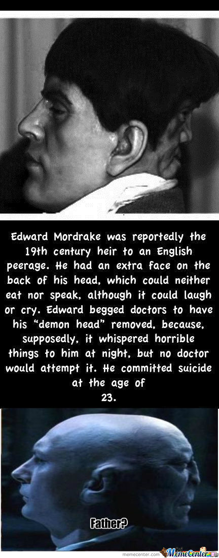 Edward Mordrake The Man With An Extra Face Images & Pictures - Becuo
