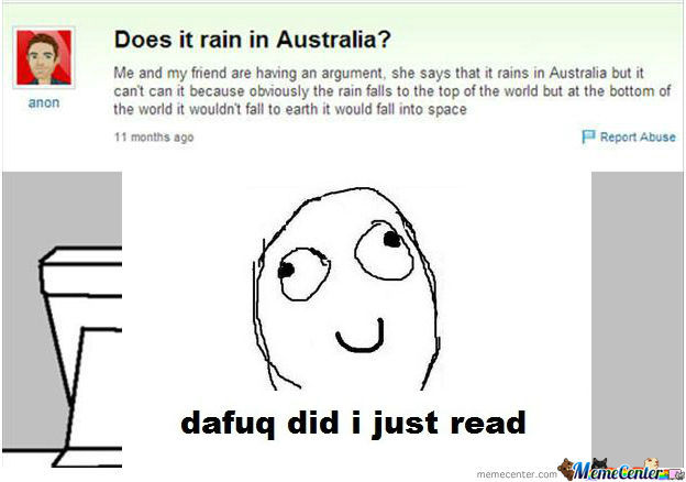 [RMX] Does it rain in Australia?