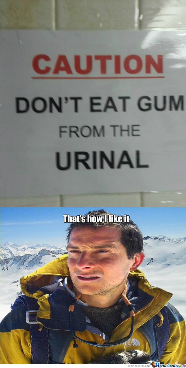 [RMX] Don't Eat Gum From The Urinal