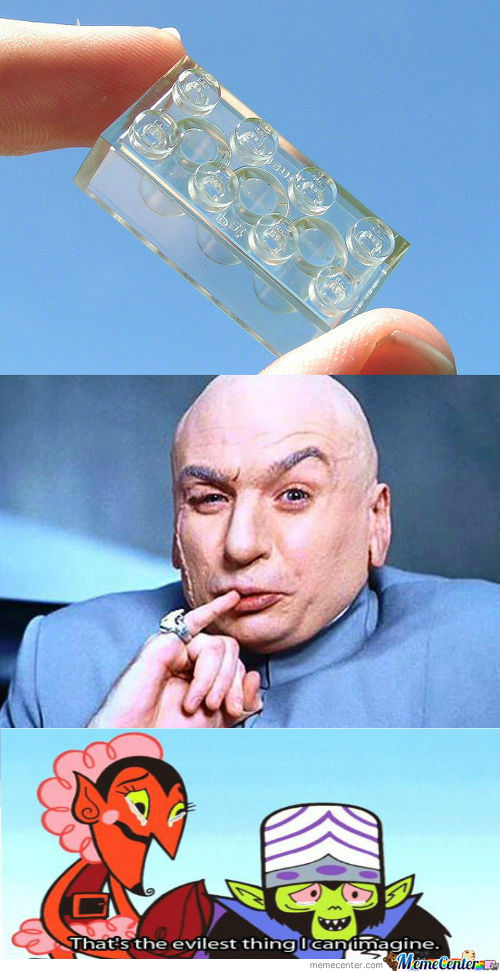 [RMX] Dr. Evil Started His New Job At Lego