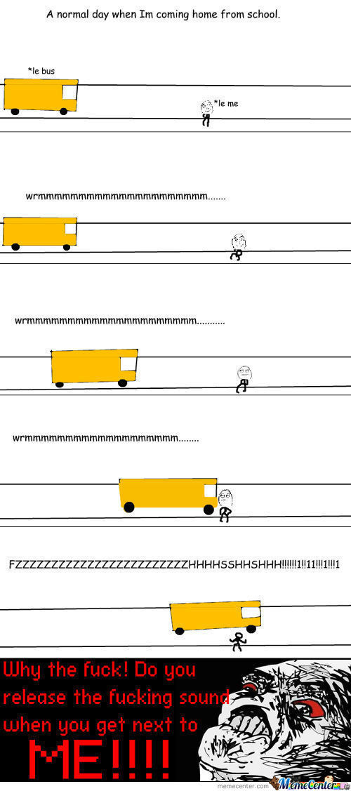 [RMX] Every F*king Time There's A Bus!