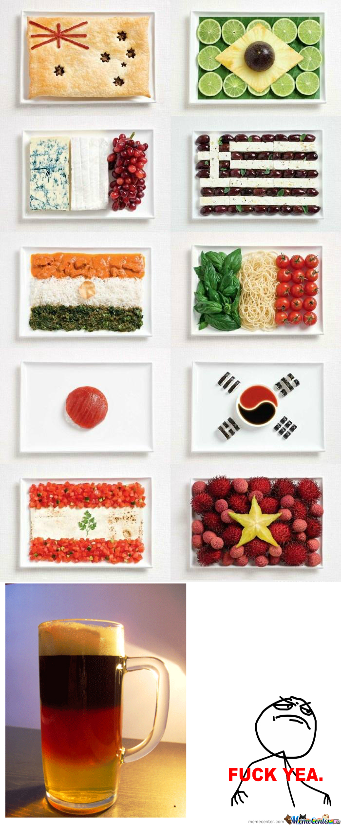 [RMX] Flags & Food.