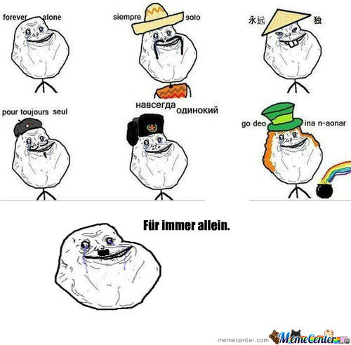 [RMX] Forever Alone United!