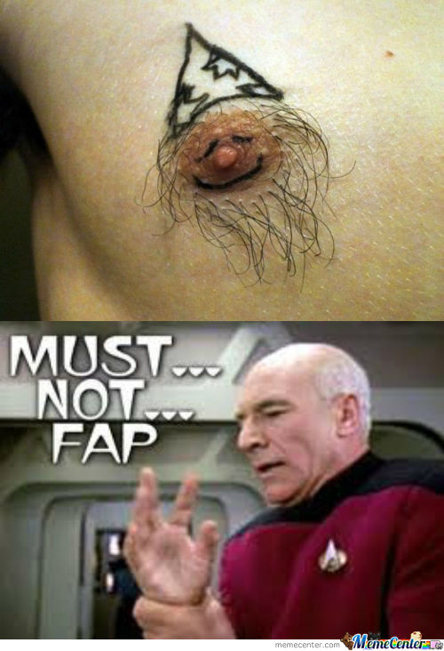 [RMX] Funny Nipple Tattoo