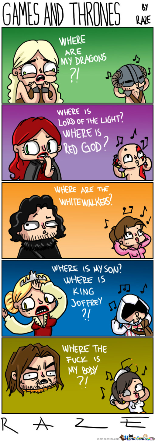 [RMX] Games And Thrones