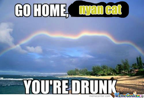 [RMX] Go Home, Rainbow.....