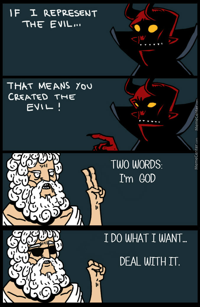 [Rmx] God Vs. The Devil 1