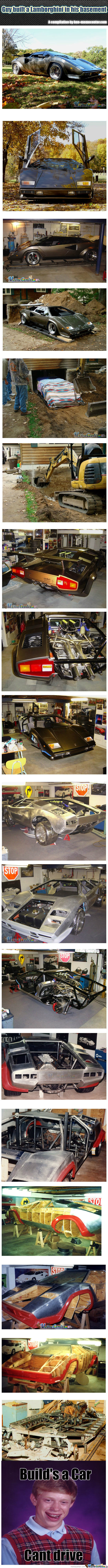 [RMX] Guy Built A Lamborghini In His Basement