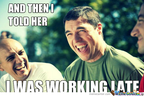 [RMX] Hahahaha Working Late