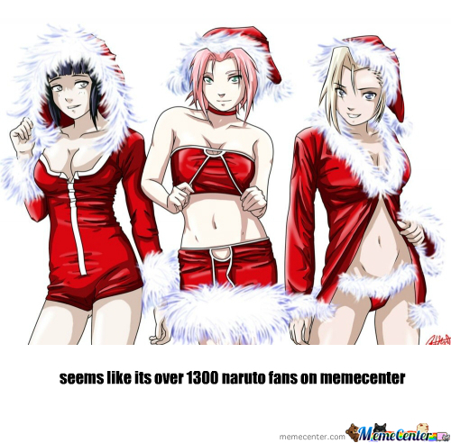 [RMX] Happy Christmas Naruto Fans N Memecenter !