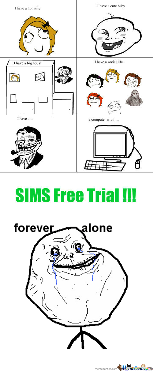 [RMX] Happy Life ..... Sims Troll