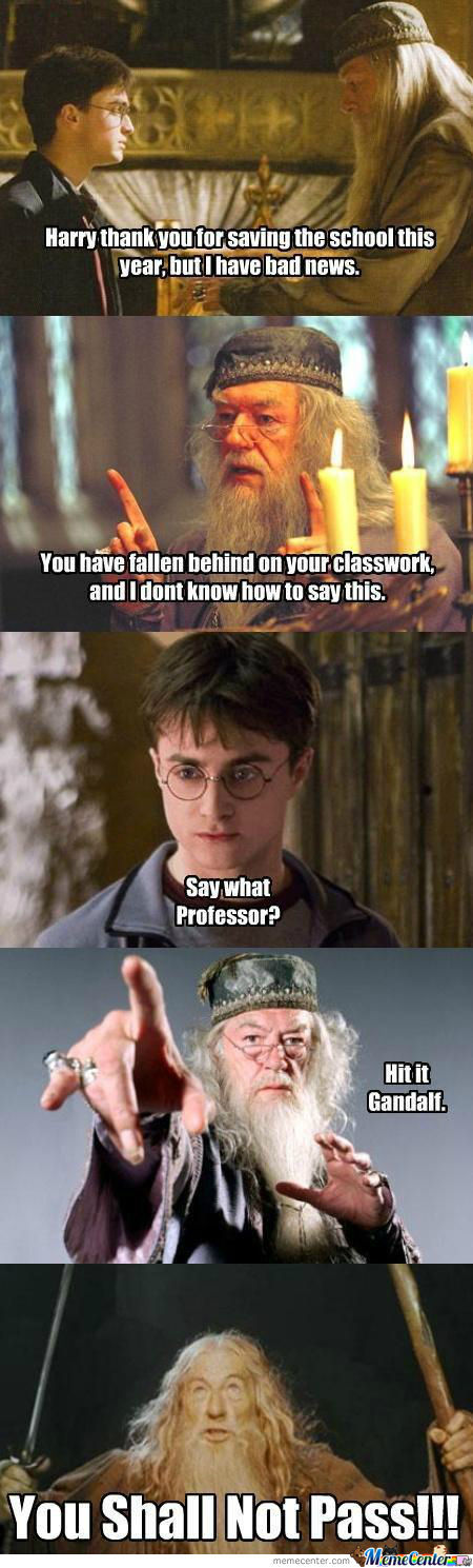 [RMX] Harry, You Shall Not Pass!