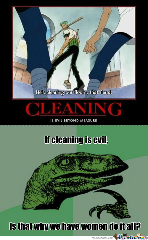 [RMX] He's Cleaning Our Floors!