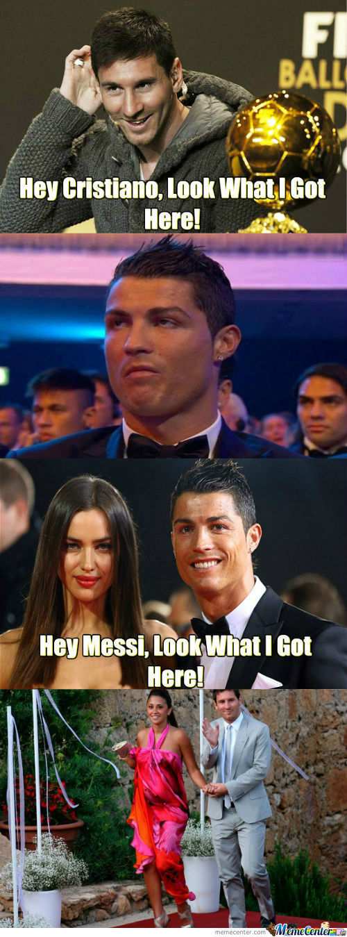 [RMX]  Hey Cristiano! Look what I got here!