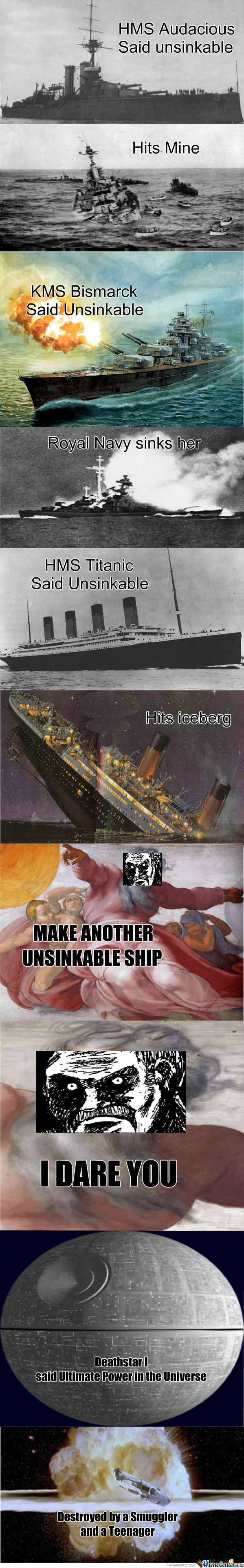 [RMX] Hide Yo Boats, Hide Yo Ships, 'cause God's Sinking Everybody Out Here