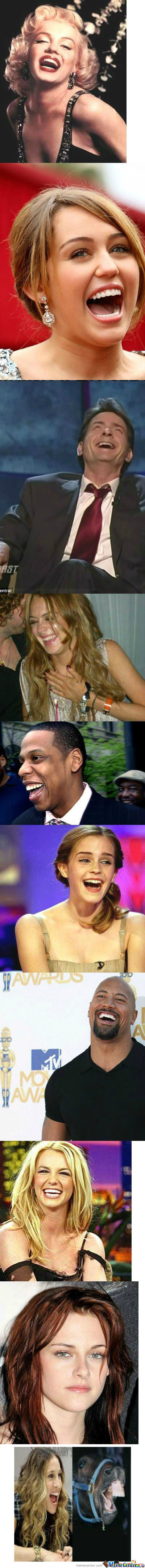 [RMX] How Celebrities Laugh