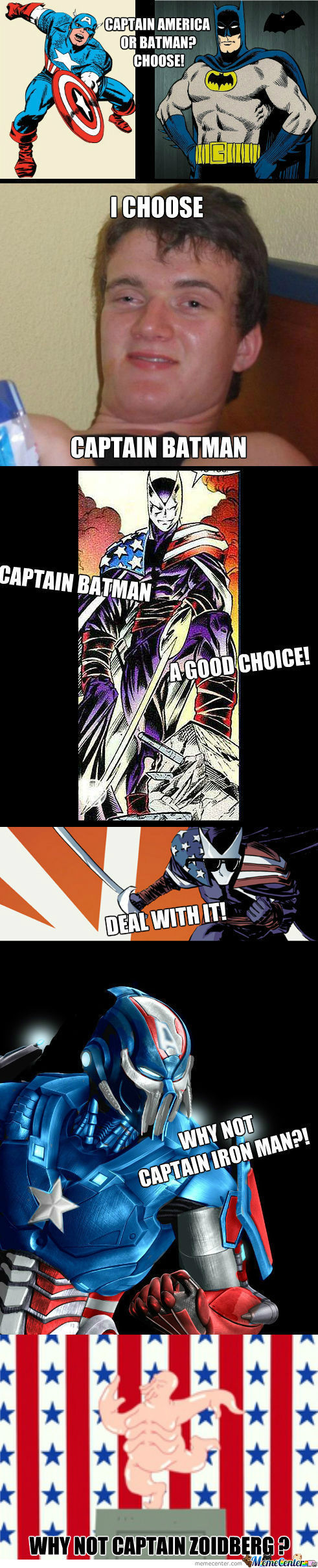 [RMX] I Choose Captain Batman