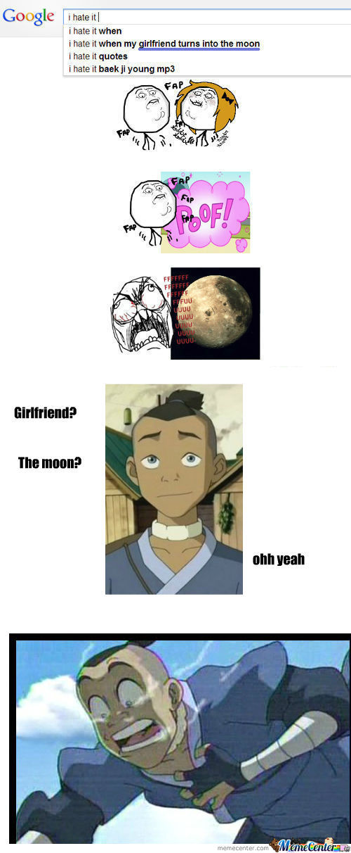 [RMX] I Hate It When My Girlfriend Turns Into The Moon.