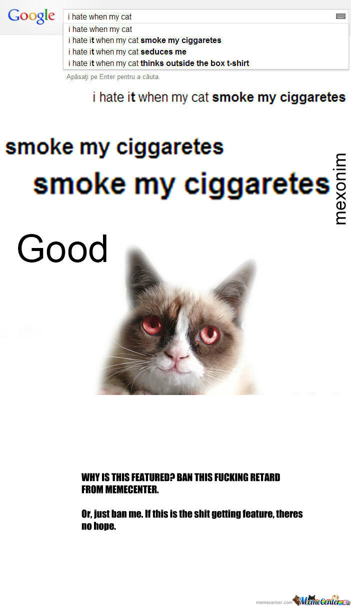 [RMX] I Hate When My Cat smoke my ciggaretes