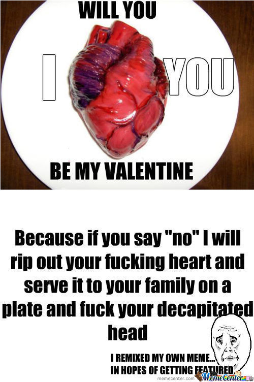 [RMX] I Will Fuck You Up! Be My Valentine