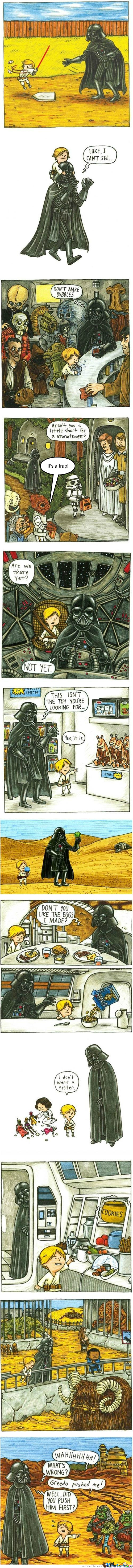 [RMX] If Darth Vader Had Been A Good Father