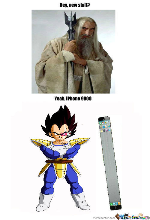 [RMX] Iphone Over 9000