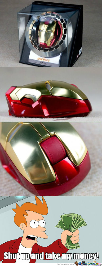 [RMX] Iron Man Mouse