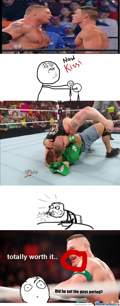 [RMX] John Cena And Brock Lesnar