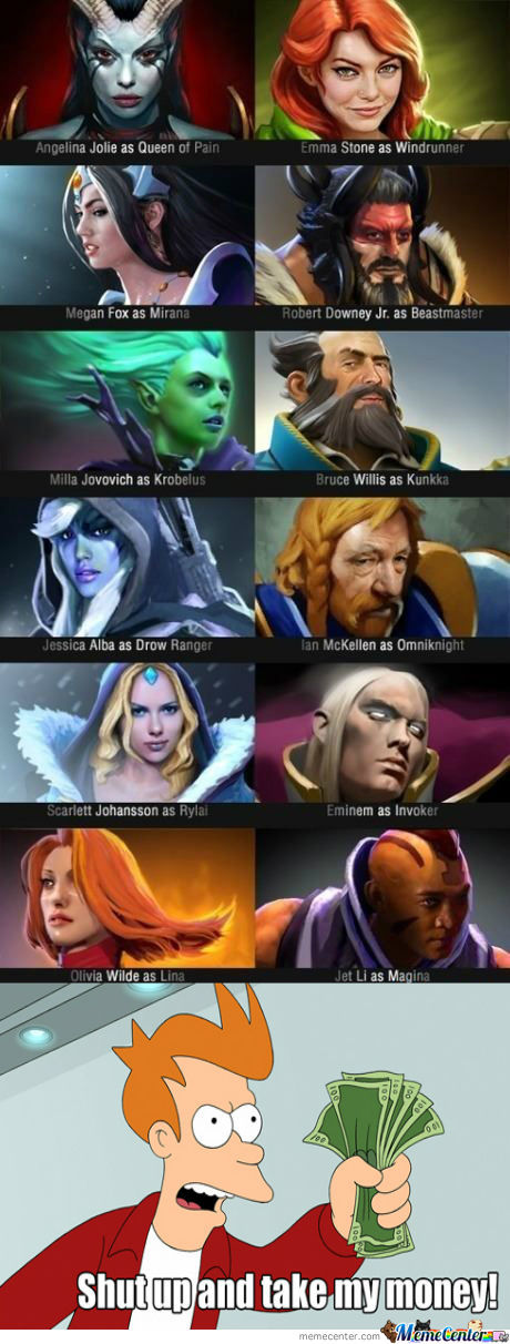 [RMX] Just Famous People As Dota 2 Heroes.