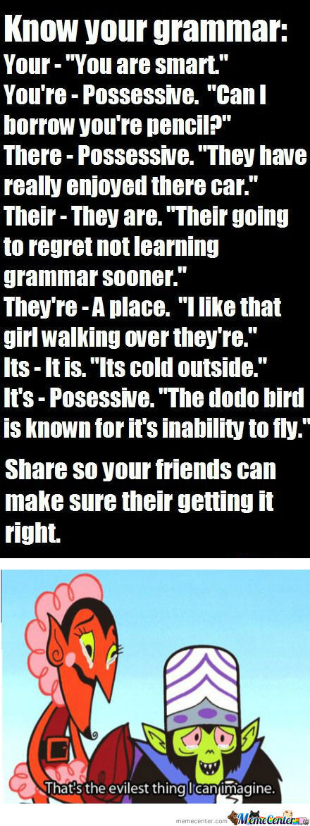[RMX] Know Your Grammar