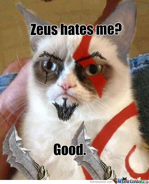 [RMX] Kratos Grumpy Cat