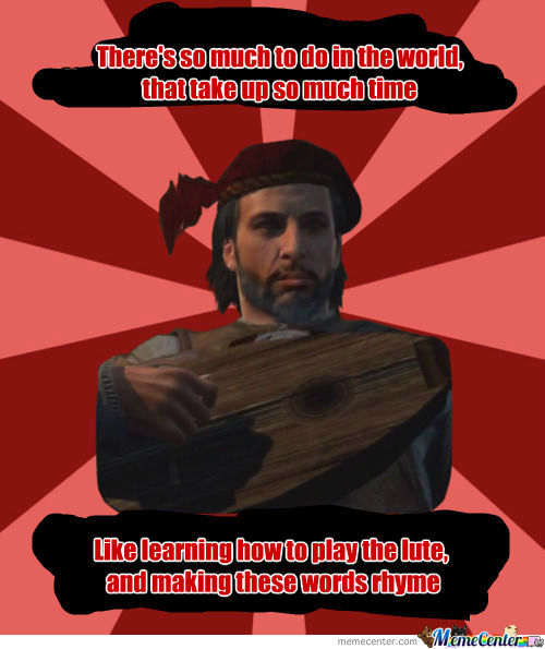 [RMX] Lute Player Ezio... New Meme???