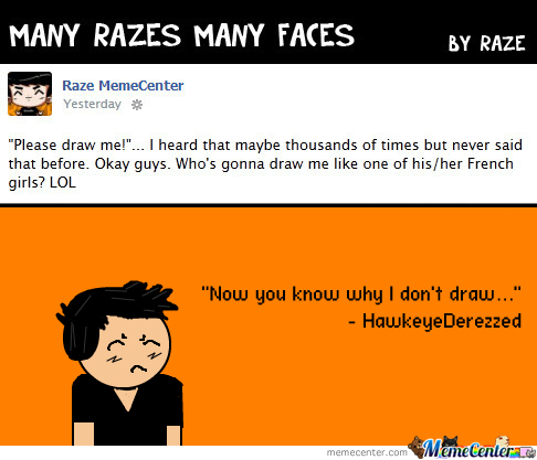 [RMX] Many Razes Many Faces