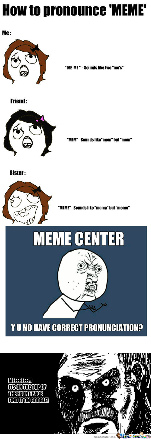 [RMX] Meme Center - Y U No