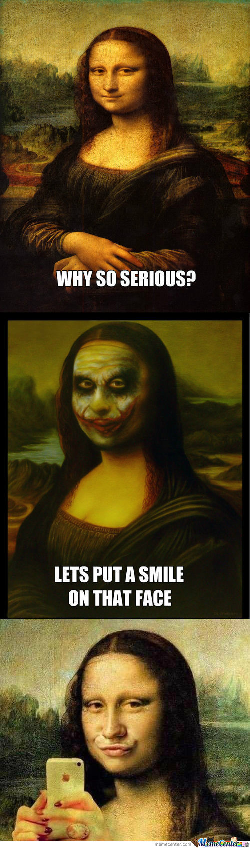 [RMX] Mona Lisa Why So Serious?