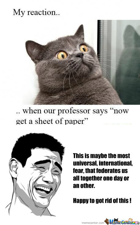 [RMX] My Reaction When Professor Says ...