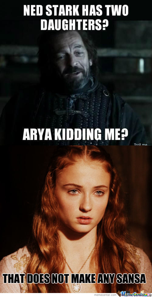 [RMX] Ned Stark Has Two Daughters??