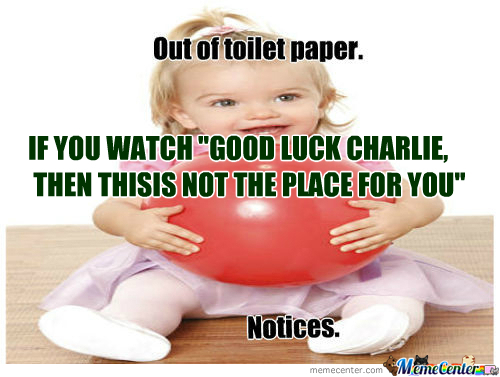 [RMX] New Meme:good Luck Charlie