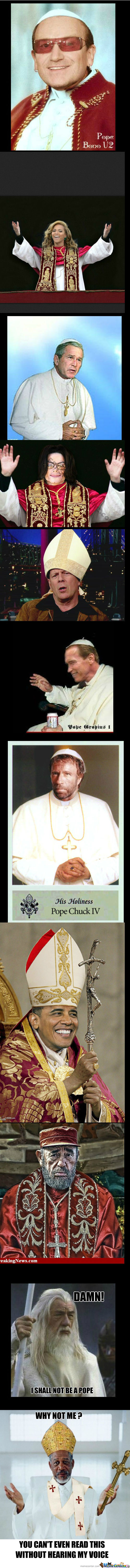 [RMX] Newest Pope Candidates (Chuck Norris Would Be My Choice)