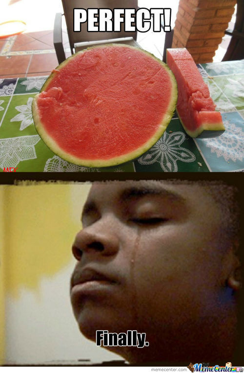 No Seeds, No Watermelons Grown In My Stomach...perfect!