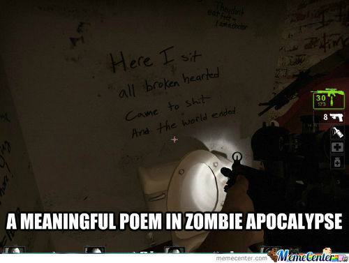 [RMX] No Toilet Paper? Just Write A Poem About It.