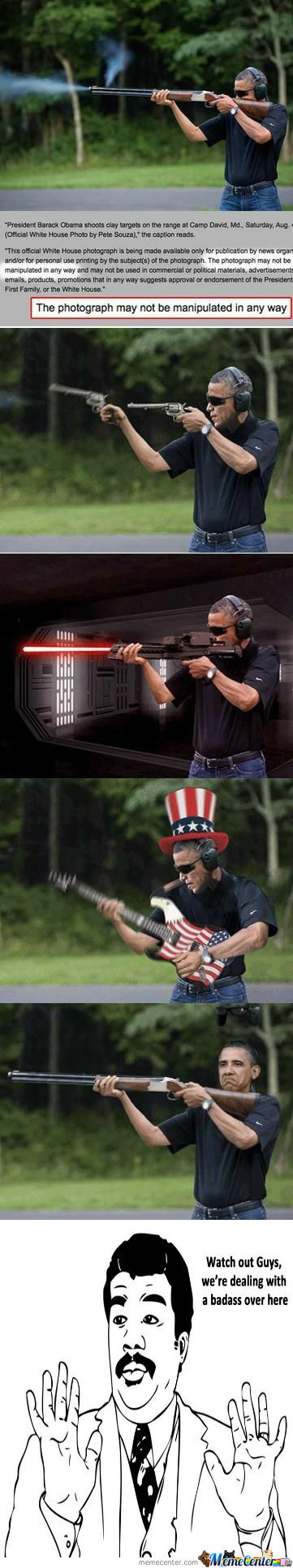 [RMX] Obama Has Big Guns