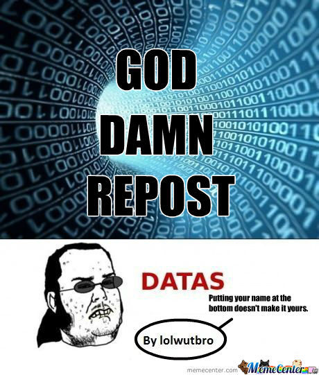 [RMX] Oh Yeah Give Me Datas!!