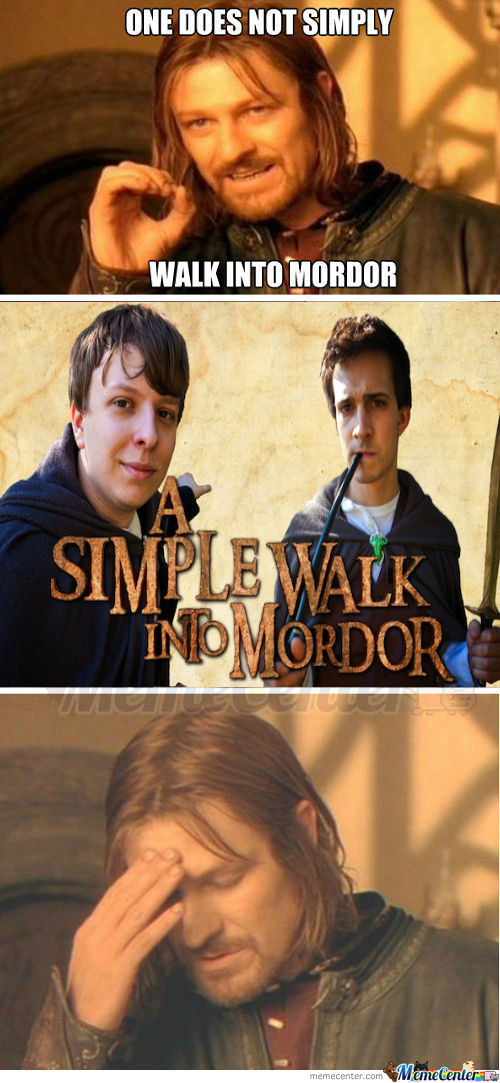 [RMX] One Doesn't Simply Walk Into Mordor