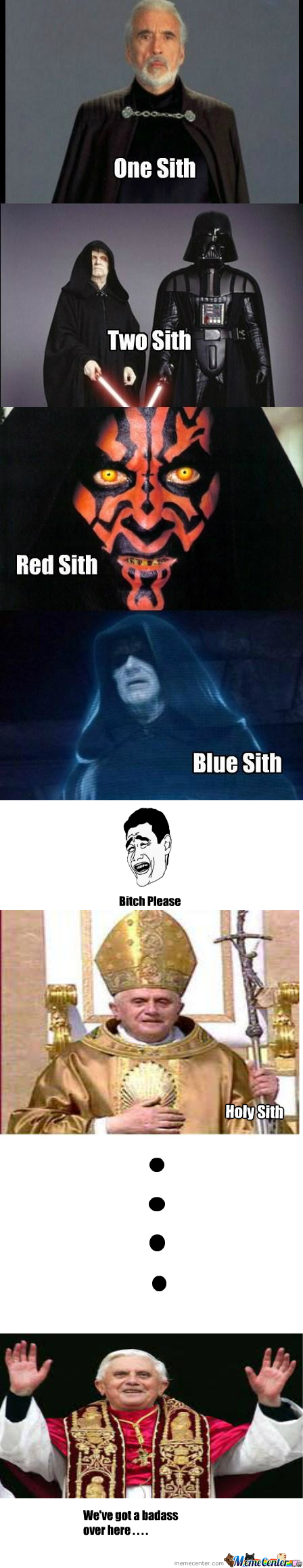 [RMX] One Sith, Two Sith, Red Sith, Blue Sith